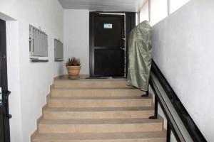 Wejście do części piwnicznej